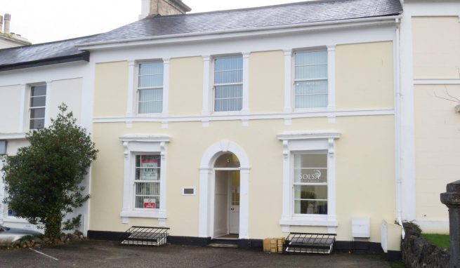 Period Grade ll Listed Office Building with parking which is part let and producing a useful income