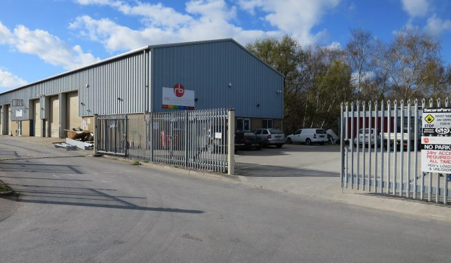 Modern Freehold Light Industrial Unit with Offices, part Mezzanine Floor and a Useful Yard Area