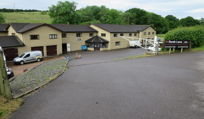 Substantial Industrial Unit with range of Offices and ample car Parking in a convenient location on the edge of Exeter