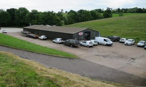 Light Industrial / Warehouse Unit with Offices and Yard Area in a convenient Exeter location