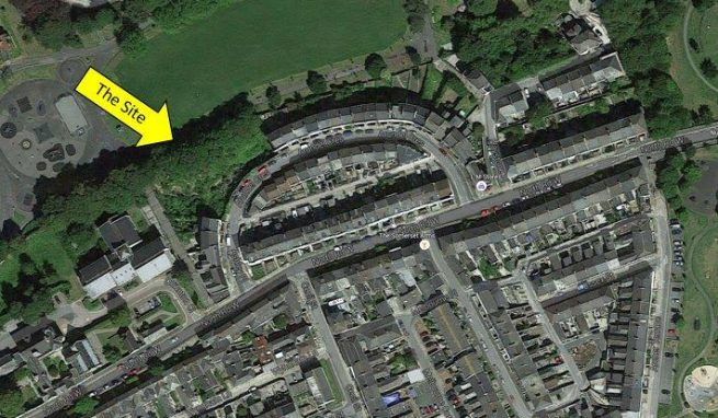 Substantial Residential Development Site in Plymouth City Centre with Planning for 24 Flats and Car Parking
