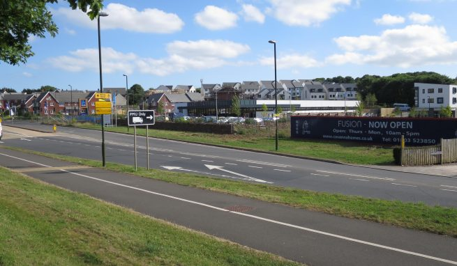Prominent Roadside Development Site with Planning Consent for an A1/ A2/ A3/ D1 Unit plus 35 Car Parking spaces