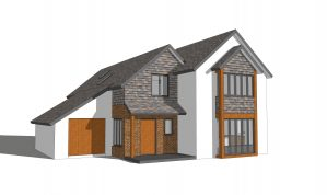 Brand new architect-designed 4 Bedroom detached House with Garage