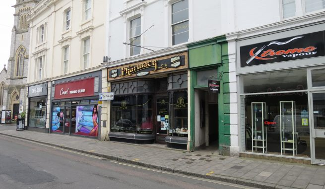 Prominent Grade ll listed Retail Investment in a sought after Town Centre location in Queen Street Newton Abbot