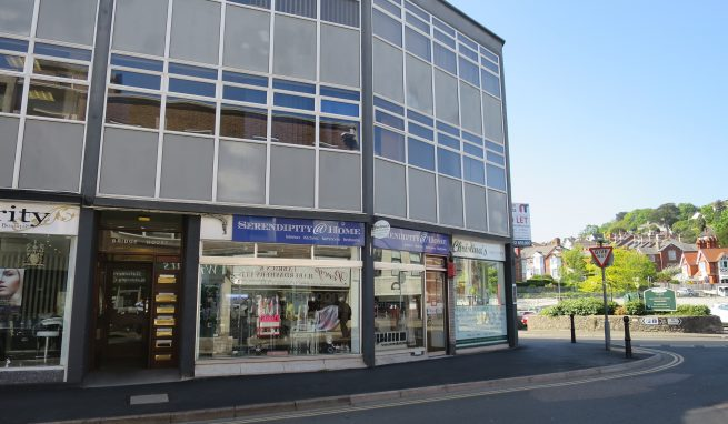 Town centre Retail Premises with excellent frontage and adjacent to a large public Car Park in Newton Abbot