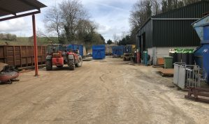 Substantial Fabrication / Storage / Plant Yard of approximately 0.37 of an Acre with useful open fronted Workshops in a convenient location