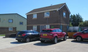 Modern purpose built self contained Office Building on the popular Heathfield Trading Estate with 3 reserved Car parking spaces