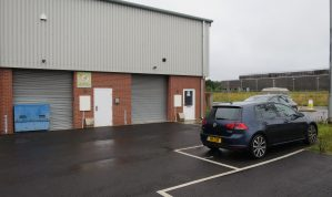 Modern Light Industrial Unit on a small Business Park in a convenient location on the Exeter side of Dawlish