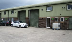 Well located Light Industrial / Warehouse Unit with large First Floor Office and Car parking