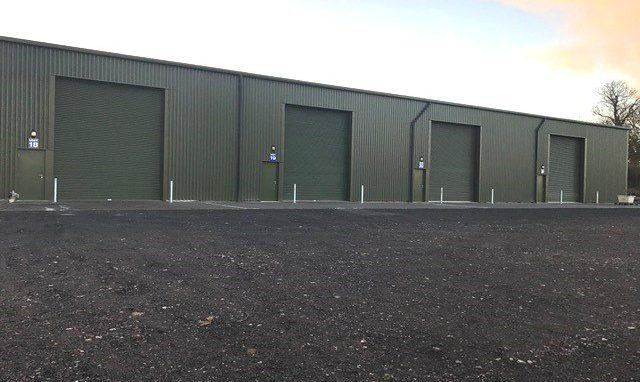 Modern Light Industrial / Warehouse Units on a convenient site just outside Newton Abbot