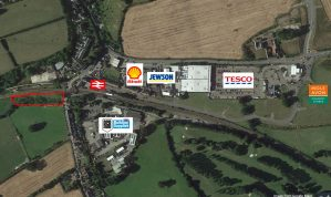 Freehold Commercial Development Site of just over 1.05 Acres with Planning Consent for 6 Industrial Units and Parking on the edge of Crediton