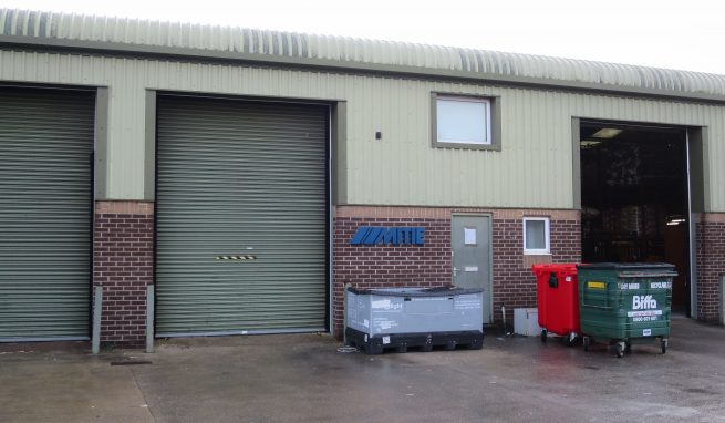 Modern Light Industrial Unit with Office and Mezzanine Floor Storage Area Over plus Parking on popular Heathfield Industrial Estate