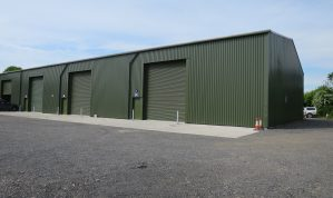 Modern Light Industrial / Warehouse Unit with First Floor Offices on a convenient site just outside Newton Abbot