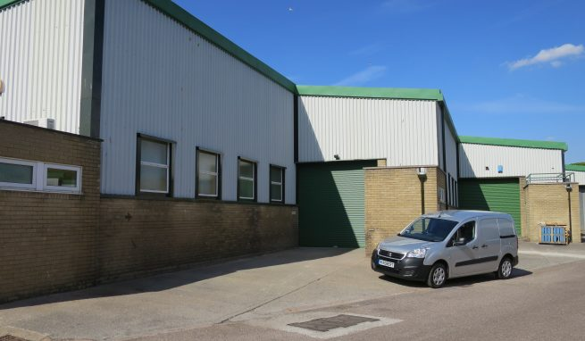 Light Industrial / Warehouse unit on the sought after Marsh Barton Estate on the edge of Exeter