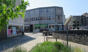 2 room Office Suite on the Second Floor of this prominent Town Centre Office building in the centre of Newton Abbot