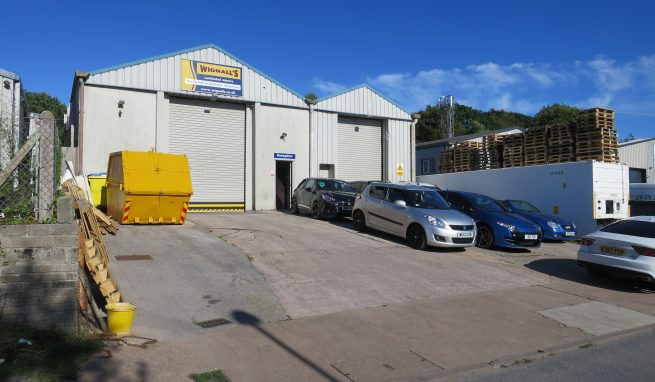 Substantial Industrial / Warehouse Unit with Quality First Floor Offices on a popular Newton Abbot Trading Estate
