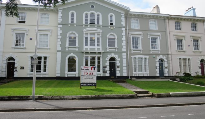 Prestigious Second Floor Office Suite in Devon Square Newton Abbot with 2 Car Parking Spaces