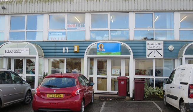Self contained 2 storey Office / Showroom / Studio Premises on the Eastern Edge of Exeter at Pinhoe with allocated Car Parking