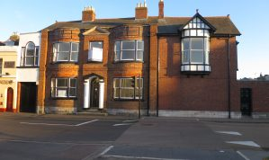 Range of Newton Abbot Town Centre Office suites in a well located Period Office building with parking to the rear
