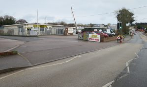 Due to Relocation - Prominent Showroom / Workshop Premises with Parking and secure Yard Area on the main Exeter Road out of Dawlish